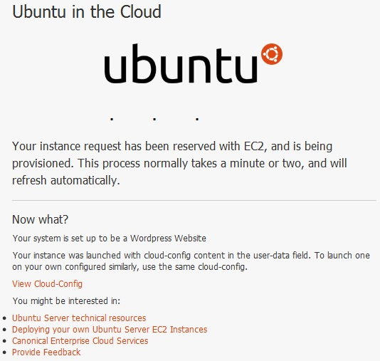 ubuntu on the cloud